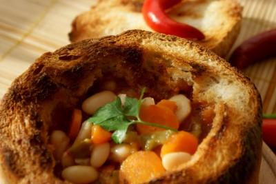 ciorba de fasole in paine 13