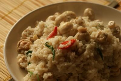 orez cu ciuperci 09