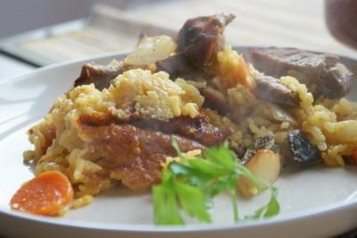 arroz con carne i verduras 10