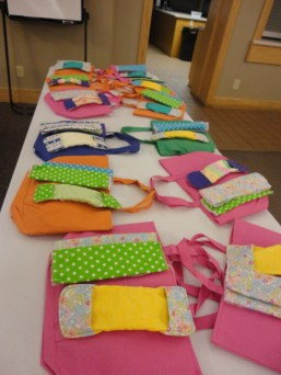 Here they are! Some of our finished products!