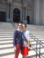 mom and I at Saint Paul's