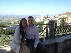 Overlooking Assisi