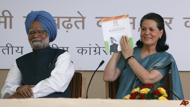 sonia and manmohan example of trust and leadership