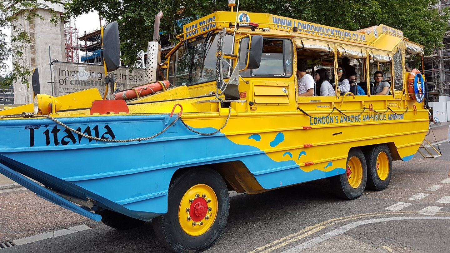 London Duck Tours!