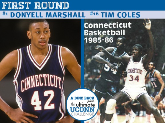 Donyell Marshall vs. Tim Coles