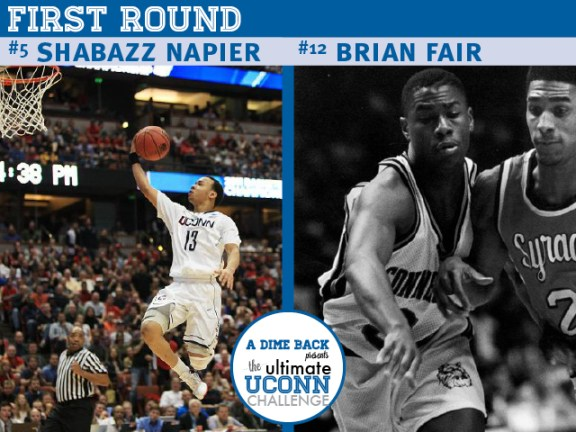 Shabazz Napier vs. Brian Fair