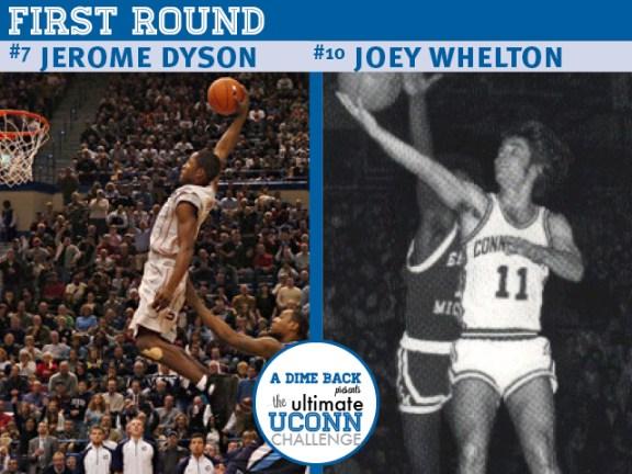 Jerome Dyson vs. Joey Whelton