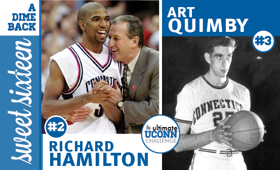 Richard Hamilton vs. Art Quimby