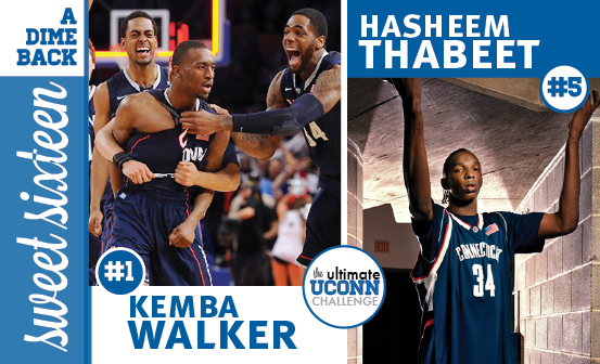 Kemba Walker vs. Hasheem Thabeet