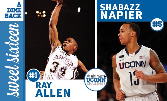 Ray Allen vs. Shabazz Napier
