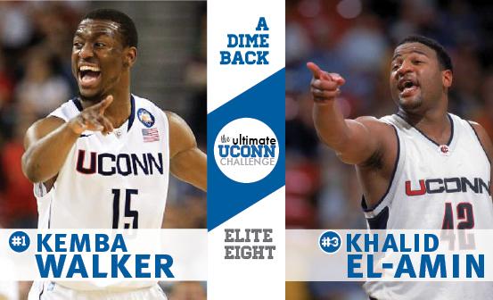 Kemba Walker vs. Khalid El-Amin