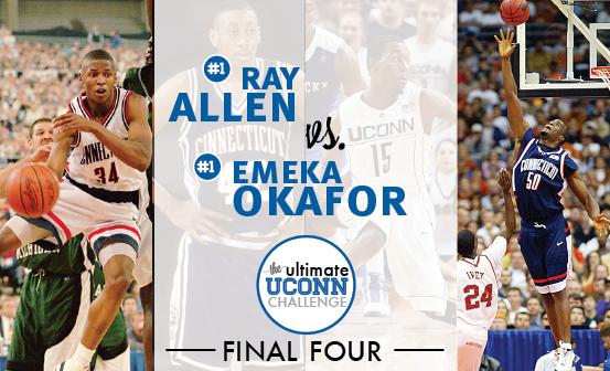 Ray Allen vs. Emeka Okafor