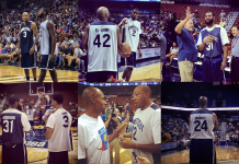 Images from the Jim Calhoun Charity All-Star Game, 2014 (A Dime Back)