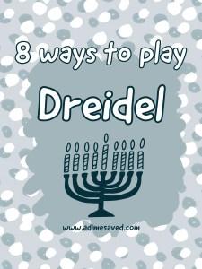 8 Ways to Play Dreidel