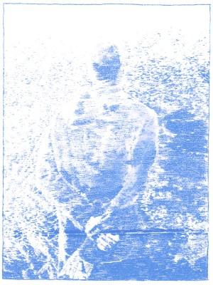 Blue transfer paper (2016)