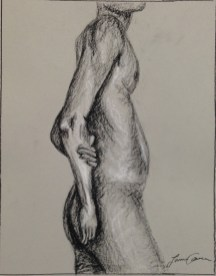 L. Ancona, Figure Composition, Drawing Fundamentals, MassArt Summer Intensives, 2013