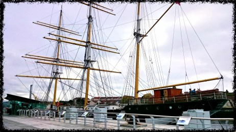 The Tall Ship auf dem River Clyde