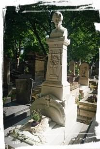Friedhof Montmartre, Grab von Heinrich Heine