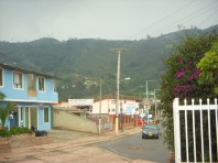 A town at the foot of the Andes.