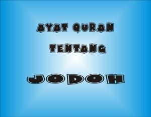 Ayat Quran Tentang Jodoh