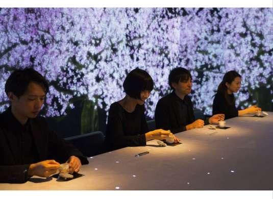 Японский ресторан придумал эстетическую цифровую акцию для посетителей