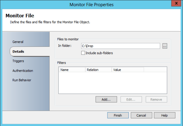 Add and Config Monitor File 04