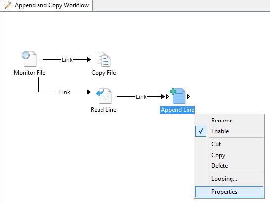 Add Append Line Activity 04