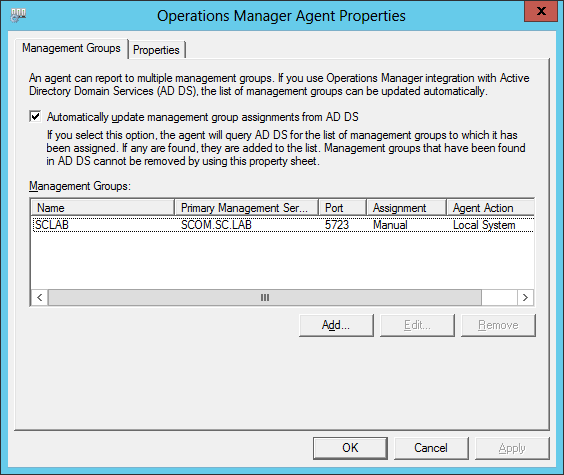 Change Account Config For Agent 02
