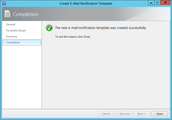 Create Notification Template - Newly Assigned Activit 10