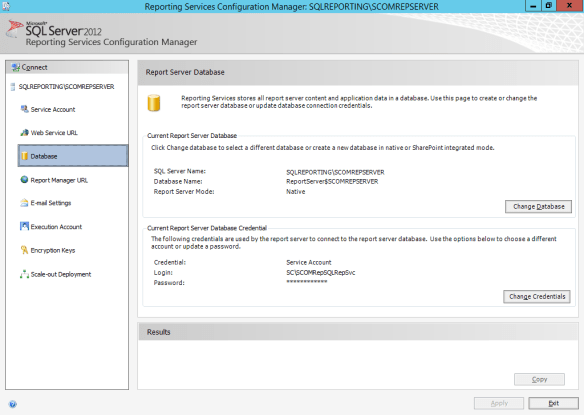 SCOM2012R2 Reporting Services