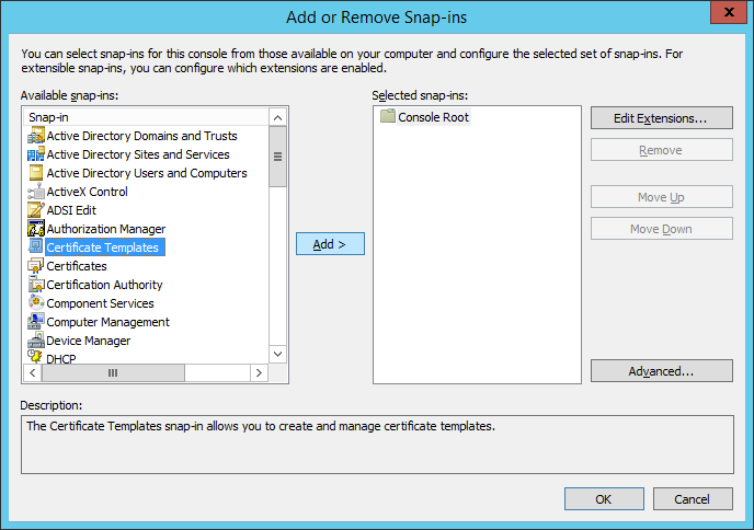 Scom 2012 r2 installation guide gateway server prepare the add certificate snapins yadclub Images