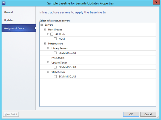 Config Baselines - 05 - Baseline Properties - Assigment Scope