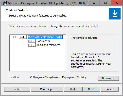 MDT 2013U1 - Features