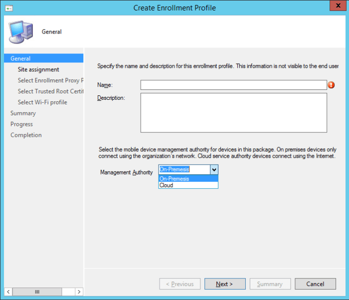 SCCM2012R2 - Windows Corporate Device - General