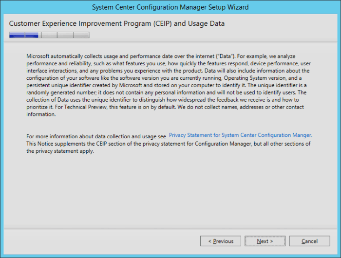 SCCM2016TP2 - CEIP Program