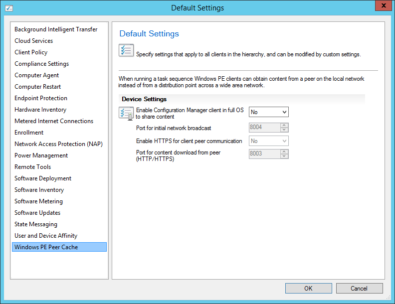 First Look At System Center Configuration Manager 2016