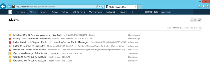 Squared-Up-Overview Squared Up's HTML5 Dashboards & Web Console for SCOM - Part 6: Customize Dashboards