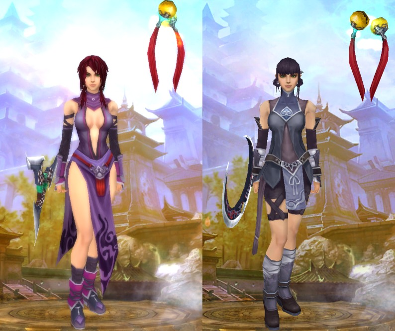 We are all clones...Lupin female outfits; to the left for level 30, to the right for level 15. No deviations, unless you buy expensive fashion outfits from the game shop