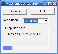 Preview of Fast Image Resizer