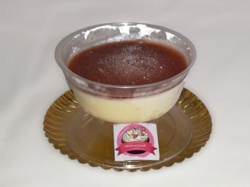 Mousse-de-queso-fresa