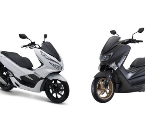 Adu Spesifikasi New Yamaha Nmax dan All New Honda PCX150