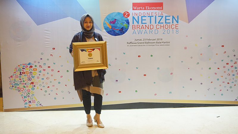 Indonesia Netizen Brand Choice Award