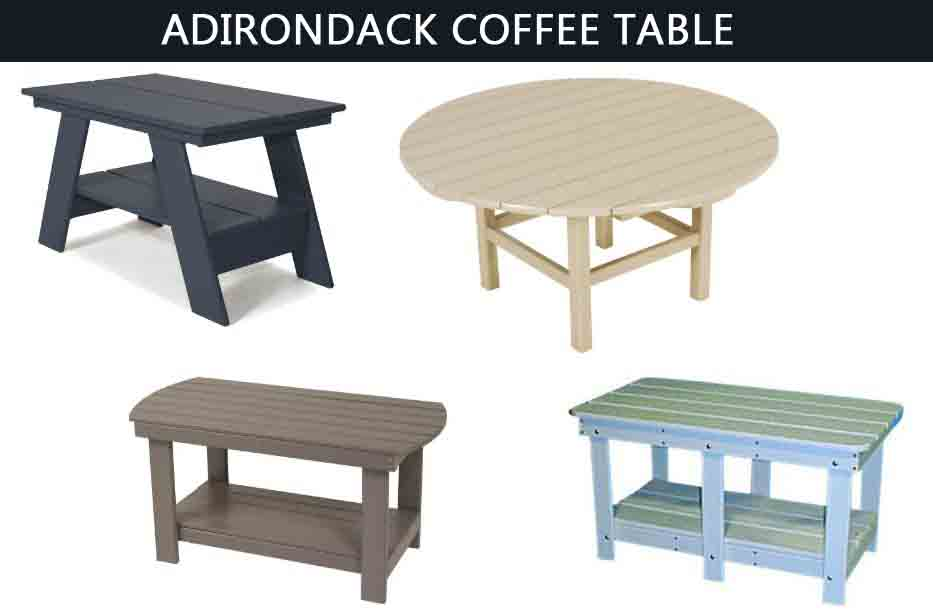 Top 10 BEST Adirondack Coffee Table -Buyer's Guide (2020)