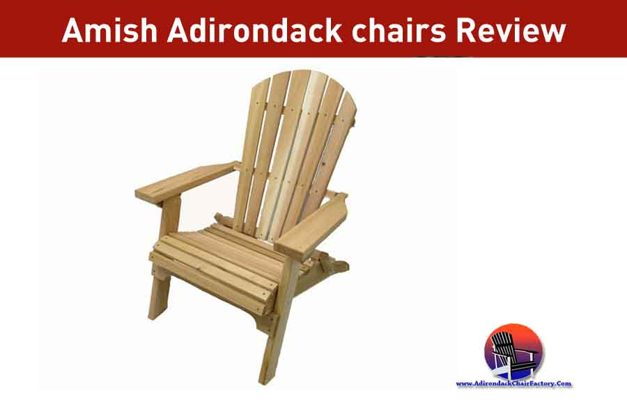 Amish Adirondack chairs Review & Features (2020)