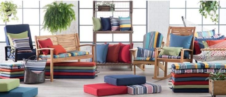 Coral coast adirondack chair cushions check