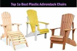 best plastic adirondack chair