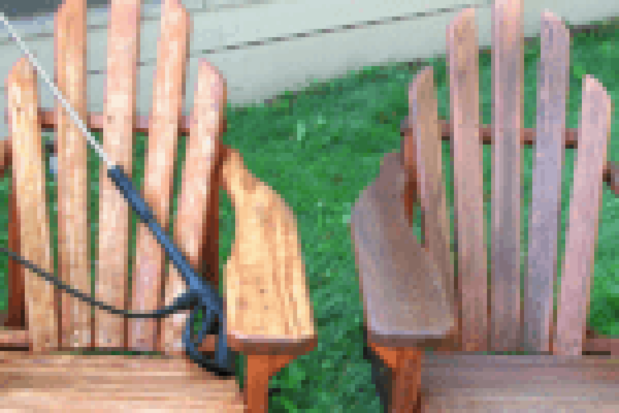 best finish for your adirondack wooden chairs