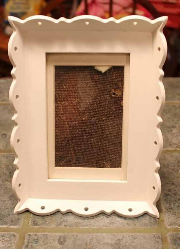 wooden shabby chic frame