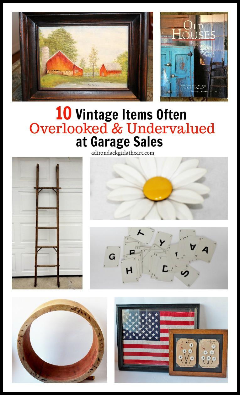 10 vintage items often overlooked at garage sales