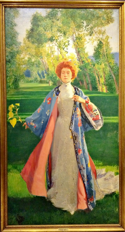 May Palmer by Frederick MacMonnies